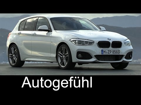 New BMW 1-Series 2015 Facelift BMW 1er Driving Shots Exterior Interior- Autogefühl