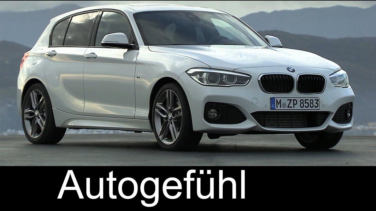 New BMW 1-Series 2015 Facelift BMW 1er driving shots ...