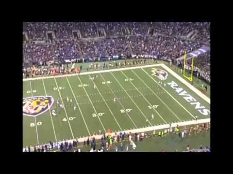 Taylor Mays beat deep by Anquan Boldin for Touchdown