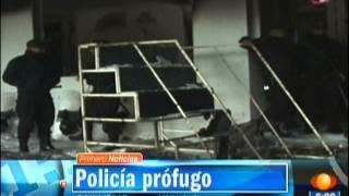 POLICIA MATA A ADOLESCENTE EN Huehuetoca HABITANTES QUEMAN PALACIO MUNICIPAL