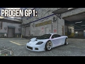 Progen GP1 - Customization And Test Drive (GTA Online Cunning Stunts: Special Vehicle Circuit)