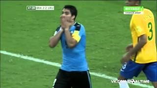 Бразилия Уругвай 2:2 (Обзор матча Квалификация ЧМ 2018 5 й тур )