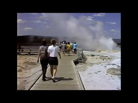 Quick trip through Yellowstone July 1998