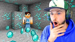 I found the GREATEST Diamond loot in Minecraft!