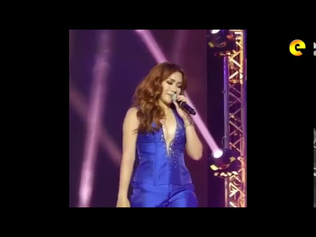 Angeline Quinto Saw Erik Santos At Her Concert And Said Something To His New Girlfriend