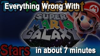 Everything Wrong With 'Top 10 Hardest Super Mario Galaxy Stars' in about 7 minutes
