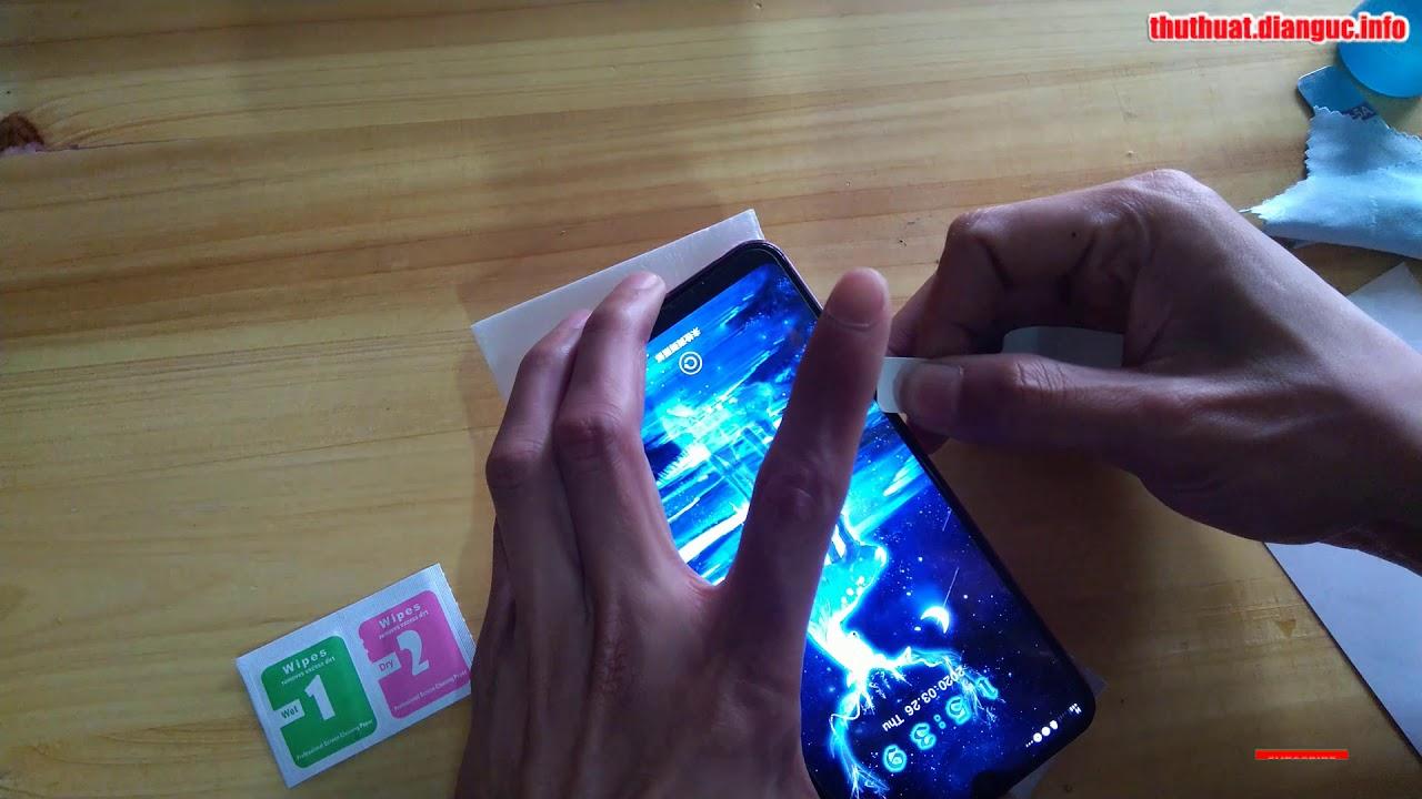 Cách tháo miếng dán cường lực cũ trên điện thoại