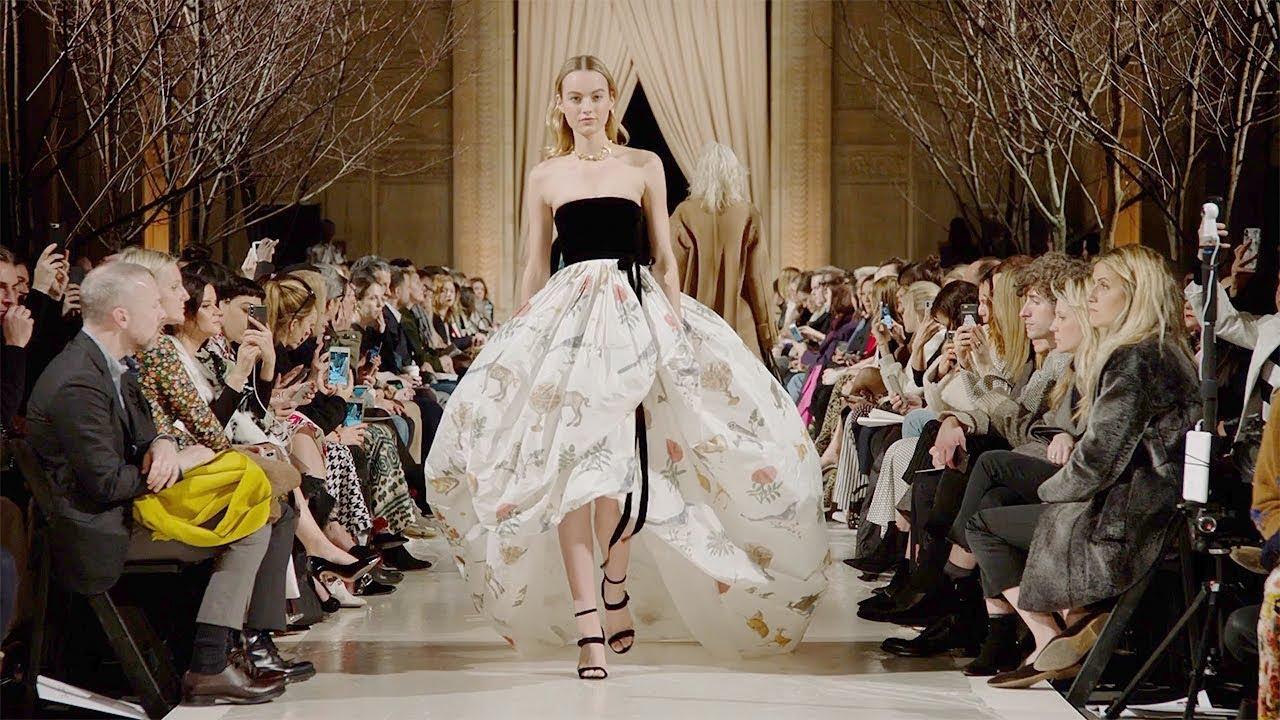 [VIDEO] - Oscar de La Renta | Fall Winter 2018/2019 Full Fashion Show | Exclusive 9