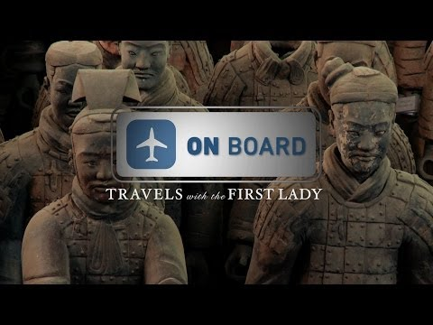 On Board: Travels with the First Lady in China, Terracotta Warriors