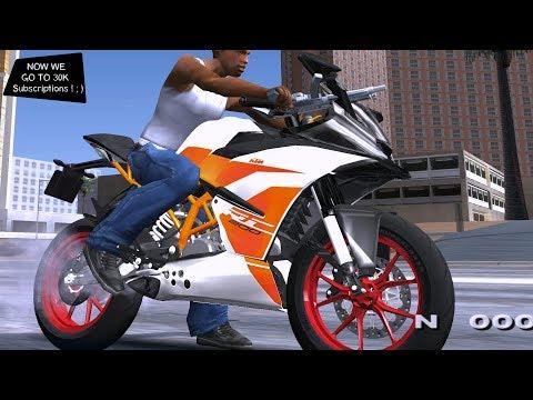 KTM RC200 Grand Theft Auto San Andreas GtaInside
