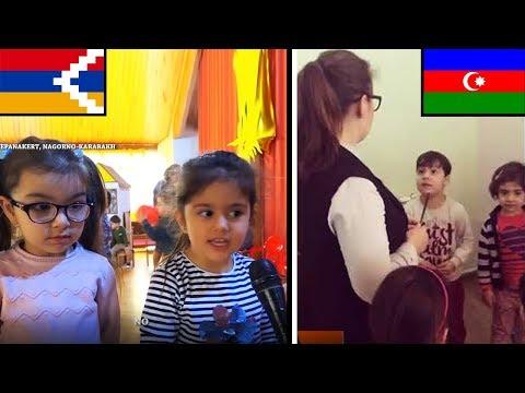 Ответ детей Арцаха, толерантному Азербайджану на видео «урок ненависти к армянам».