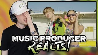 Music Producer Reacts to J Hope - Chicken Noodle Soup (feat. Becky G)