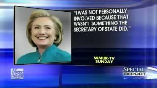 Fox News Poll Shows Clinton Cash Revelations Impacting Hillary Clinton's Trustworthiness