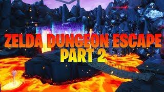 Zelda dungeon escape part 2 (Fortnite Creative Map + Code)