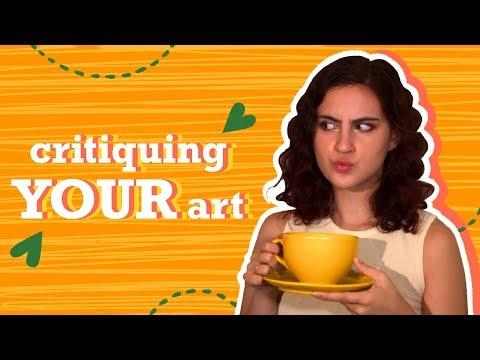 Critiquing My Viewers' Art!!