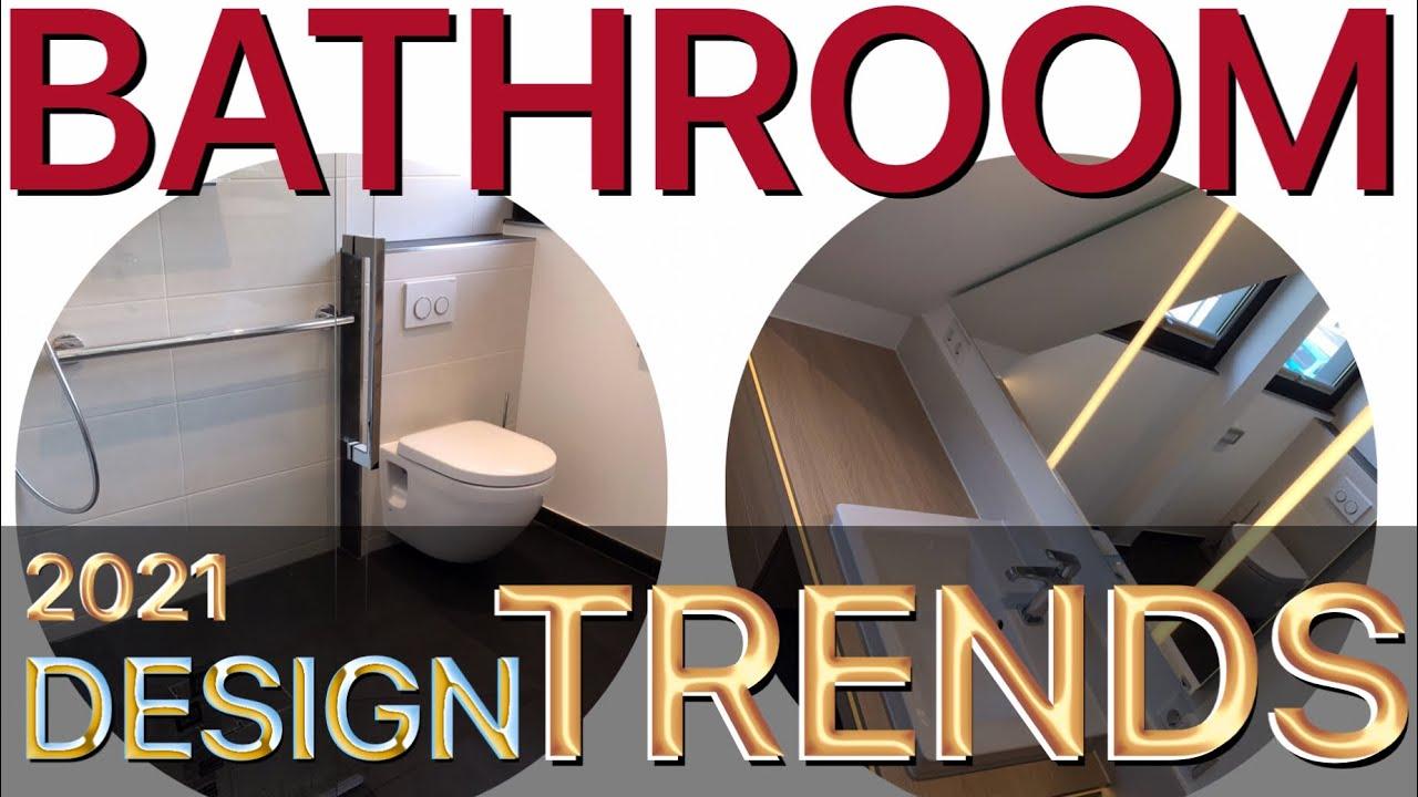 bathroom design trends 2021 - YouTube