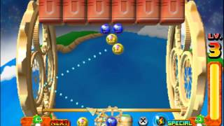 Puzzle Bobble Universe 3D \ Bust-a-Move Universe Gameplay (Nintendo 3DS) [60 FPS] [1080p] Top Screen