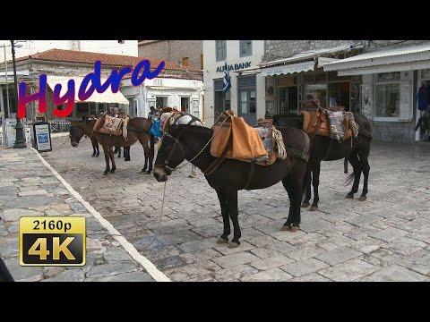 Island of Hydra - Greece 4K Travel Channel