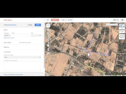 How to fix (correct) an intersection in Google Map Maker