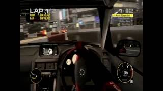 Race Driver GRID PC gameplay on extreme setting cockpit view