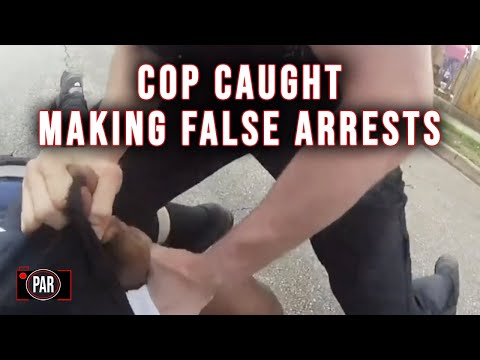 Cop Charged with Making Multiple False Arrests