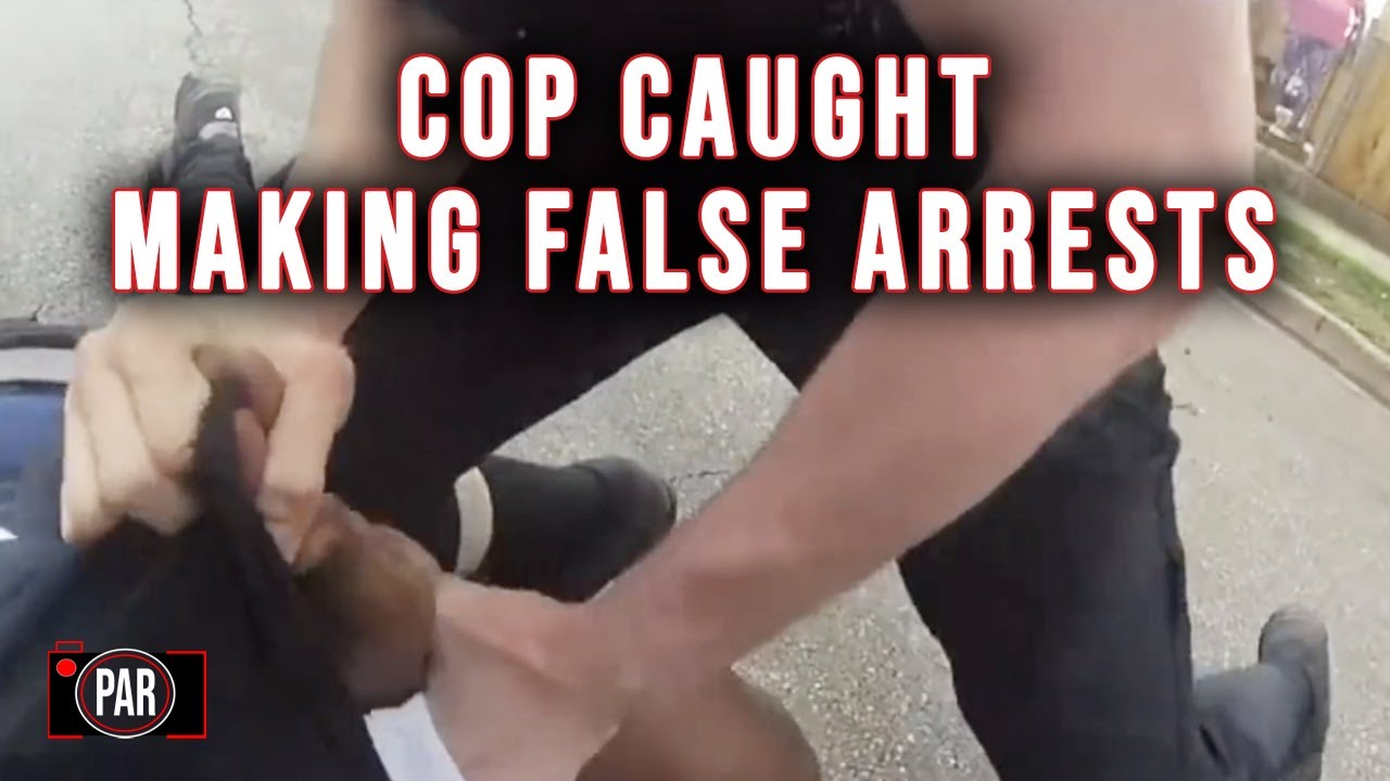 Breaking: Cop Charged with Making Multiple False Arrests