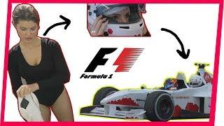 INSIDE A FORMULA 1 CAR! | Amanda Cer...