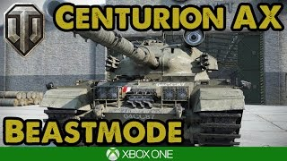 The 5 Minute Pools Medal - Centurion AX Guest Replay - WoT Xbox One