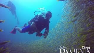 Koh Lanta Diving in Bida Nok with Phoenix Divers Koh Lanta