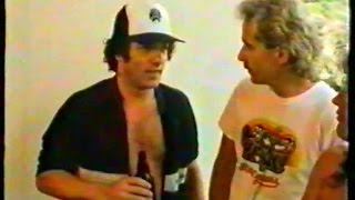 Rock In Rio 1985 TV-Report (Live & Interview) AC/DC Scorpions ...
