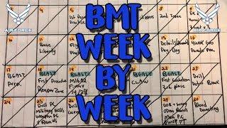 NEW Air Force BMT Week By Week (Weeks 0-4) Breakdown Part 1