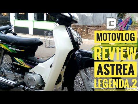 MOTOVLOG REVIEW HONDA ASTREA LEGENDA 2