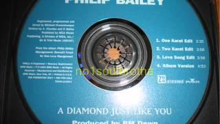 philip bailey a diamond just like you two karat edit