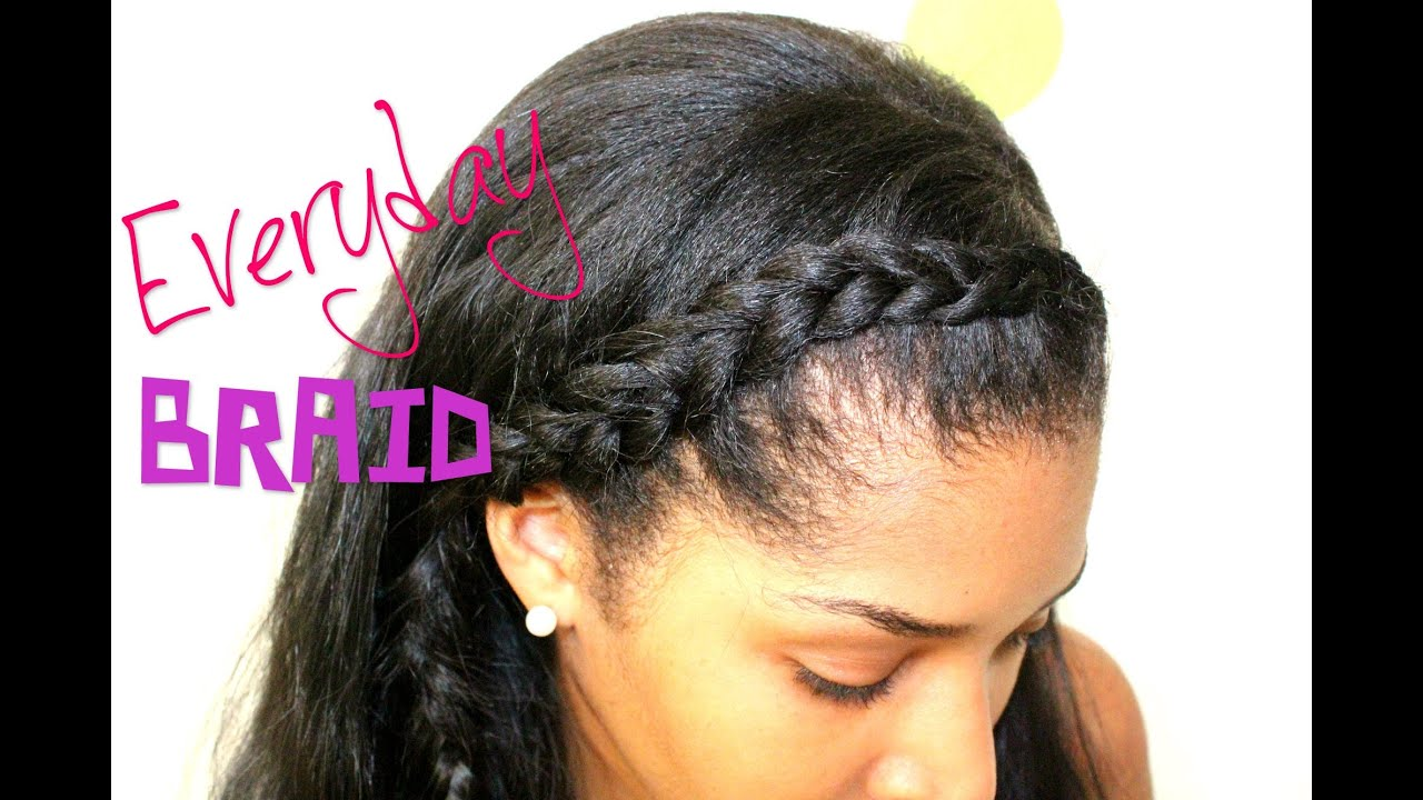 Side Braid Tutorial With Extensions Youtube