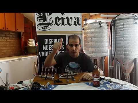 Tipos de Canillas para tirar Cerveza Artesanal - CERVEZA LEIVA - Video 19
