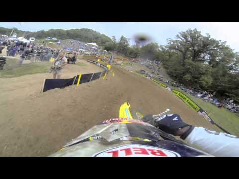 GoPro HD: James Stewart Full Moto 2 - Spring Creek Mx Lucas Oil Pro Motocross Championship 2013