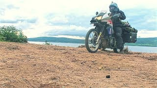 RIDING MOTORCYCLES ON THE BEACH - FREE CAMPING !!