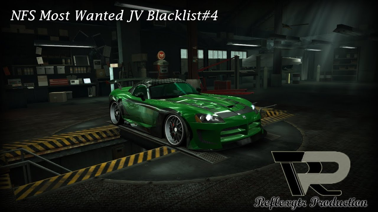 Need for Speed World - NFS MW JV blacklist #4 Vinyls ...