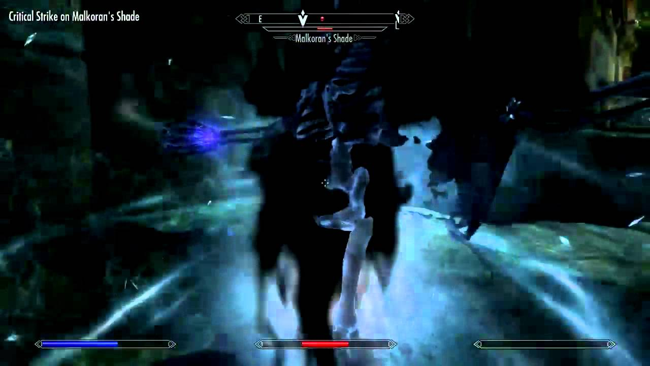 Elder Scrolls V Skyrim How To Defeat Malkoran Youtube