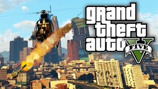 GTA 5 BOUNTY HUNTERS #32 - BOUNTIES, BUZZARDS AND BADLUCK! (GTA V Online)