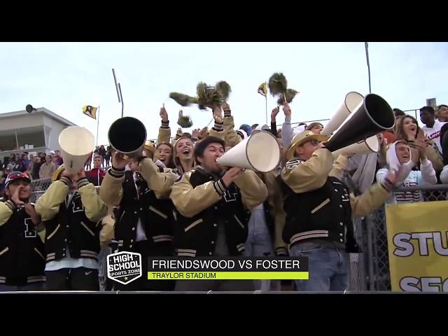 Friendswood vs Foster