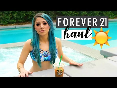 Thumbnail: Spring FOREVER 21 HAUL + Collabing with Alisha, Mia + Natalie!