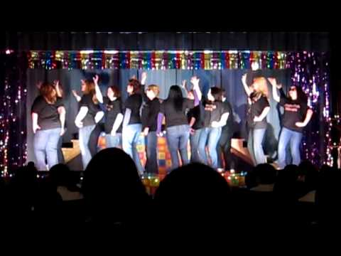 Knight Club Dancers: A One-Minute Clip of Teachers' Dance at Nightingale Elementary School