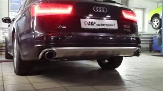 Выхлопная система с изменяемой геометрией AGP Motorsport для Audi A6 C7 Allroad 3.0TDI
