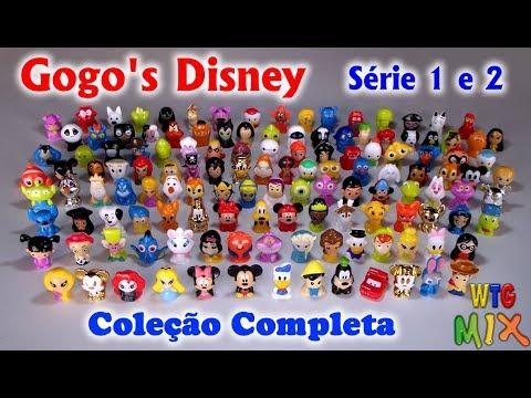 Coleção Completa Gogo's Disney série 01 e 02 2015/2016 Brasil Panini / Gogo's Crazy Bones / wikkeez