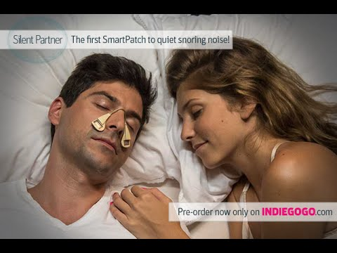 Silent Partner quiets the snoring noise like magic