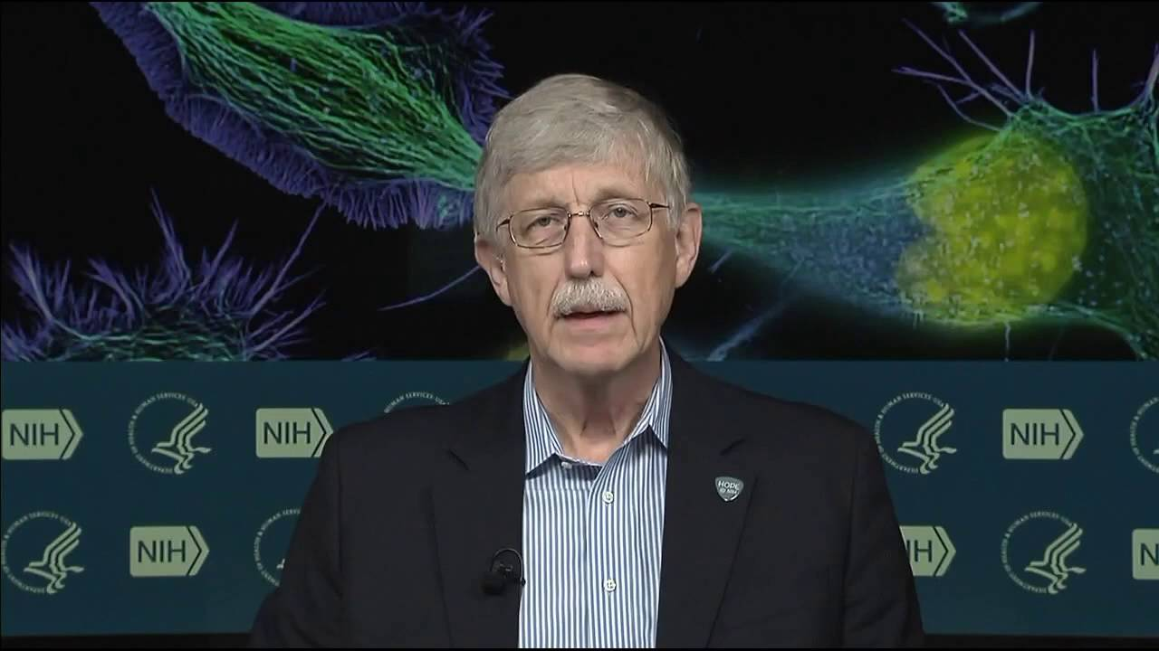 Space Station Crewmember Talks Science with NIH Director