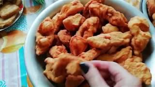 Старинные русские рецепты Хрустики хворост орешки