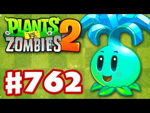 Ice Bloom! New Plant! - Plants Vs. Zombies 2 - Gameplay Walkthrough Part 762