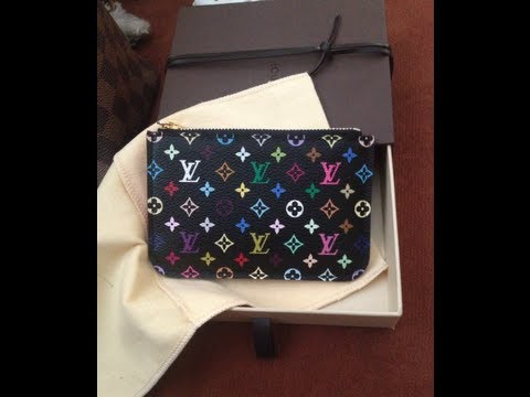 ccf502c8a558 Louis Vuitton Multicolor Monogram Cles Review! - YouTube